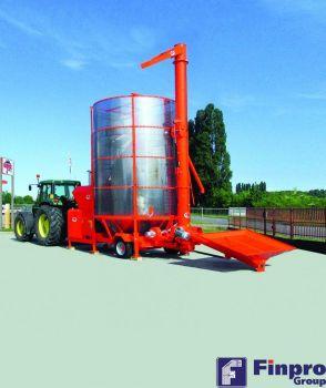 Мобильная зерносушилка Агрекс PRT250 ME с внешним шнеком рециркуляции зерна