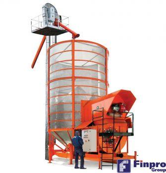 Зерносушилка Agrex PRT400FE с ковшевой норией вместо шнека